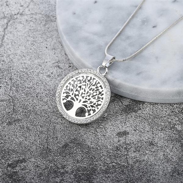 Collier arbre de vie bijoux femme argent