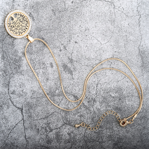 collier Arbre branches bijoux pas cher